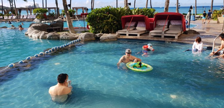 Sheraton Waikiki - Kids Pool.